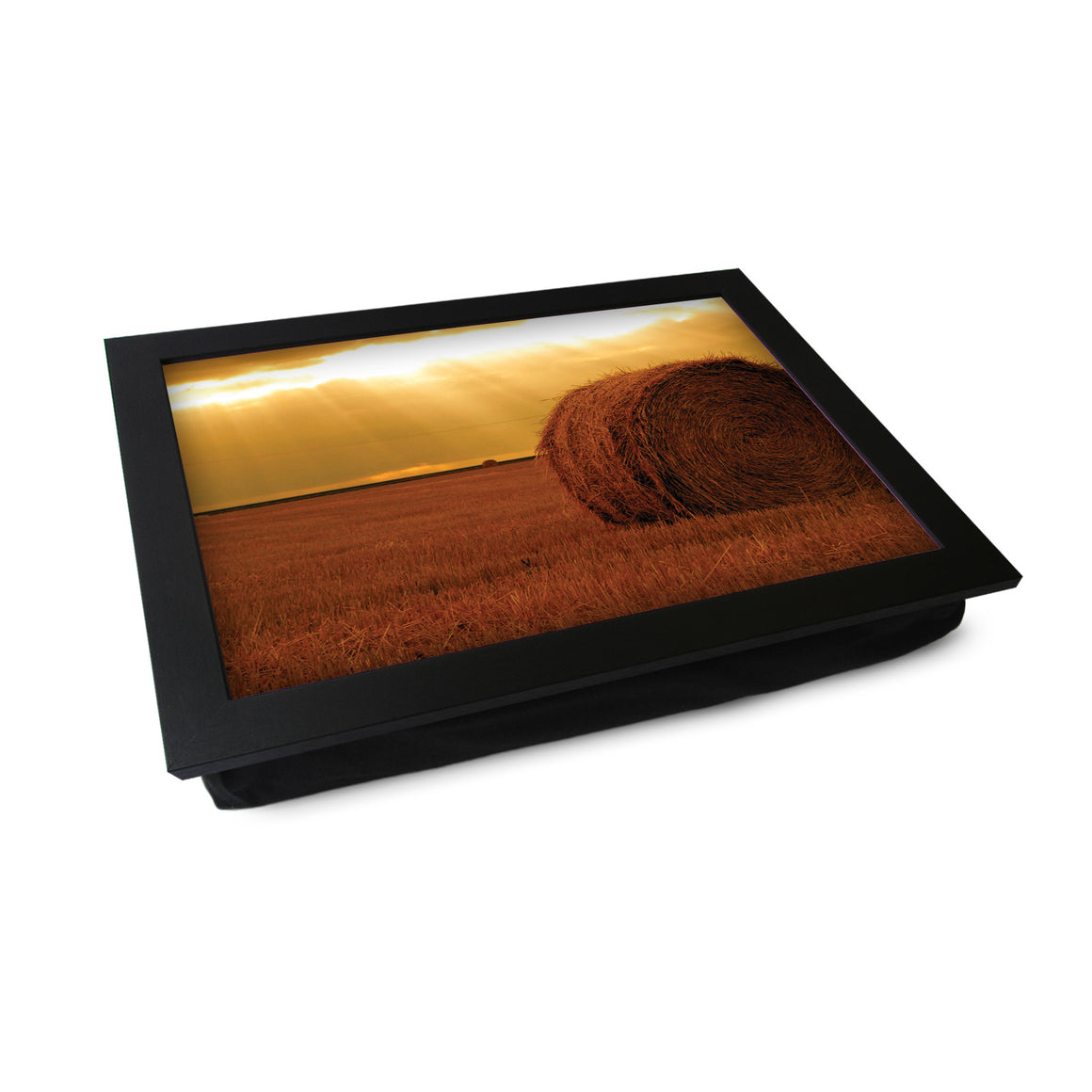 Haybale At Sunset Lap Tray - L0360
