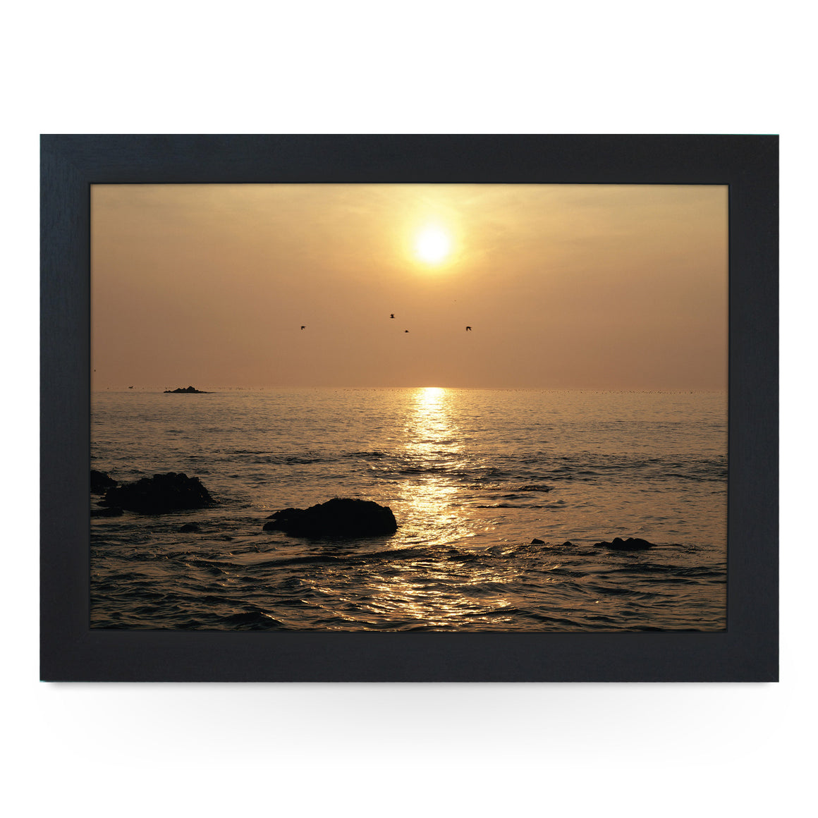 Sea at Sunset Lap Tray - L0361