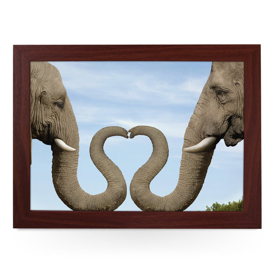 Elephant Heart Lap Tray - L0379