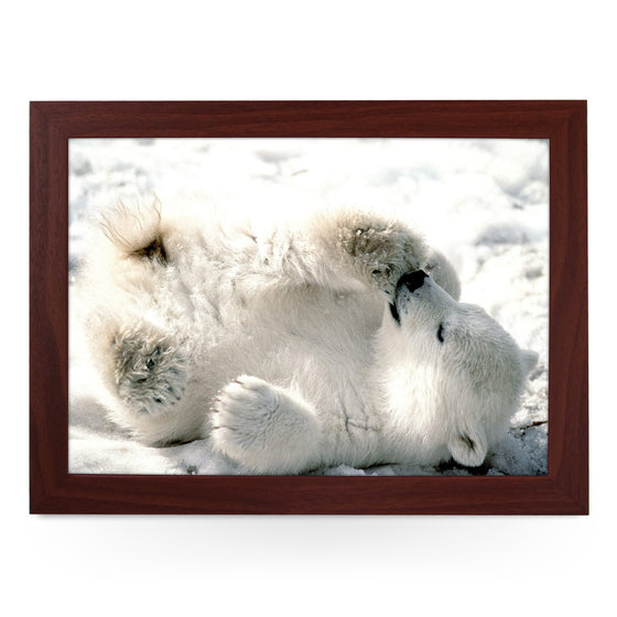 Polar Bear Cub Lap Tray - L0384