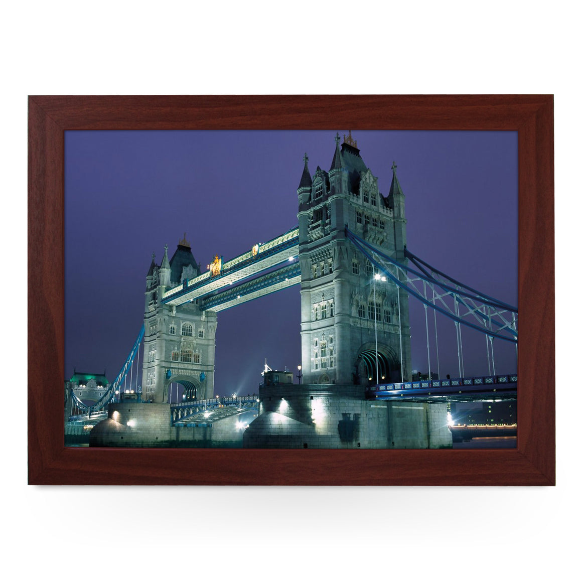 London Tower Bridge at Night Lap Tray - L0391