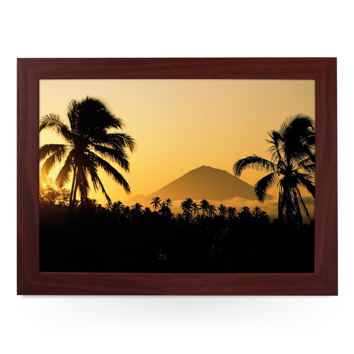 Indonesia Mount Agung Lap Tray - L0392