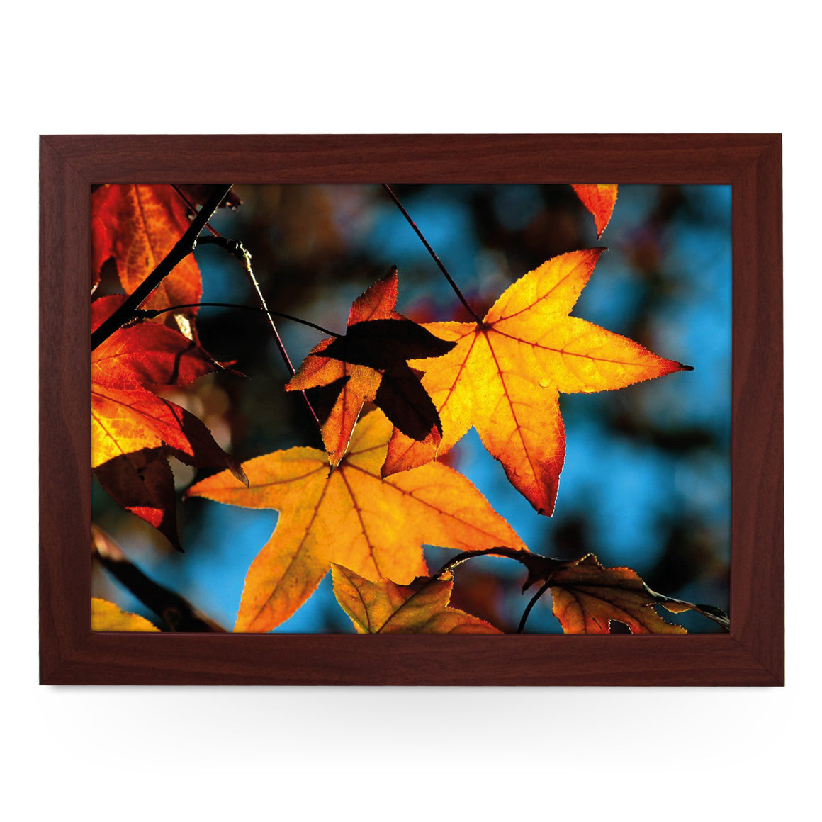 Autumn Leaves Lap Tray - L0394