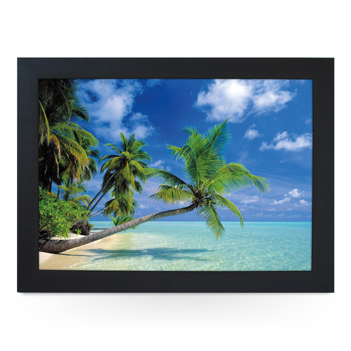 Tropical Beach Lap Tray - L0396