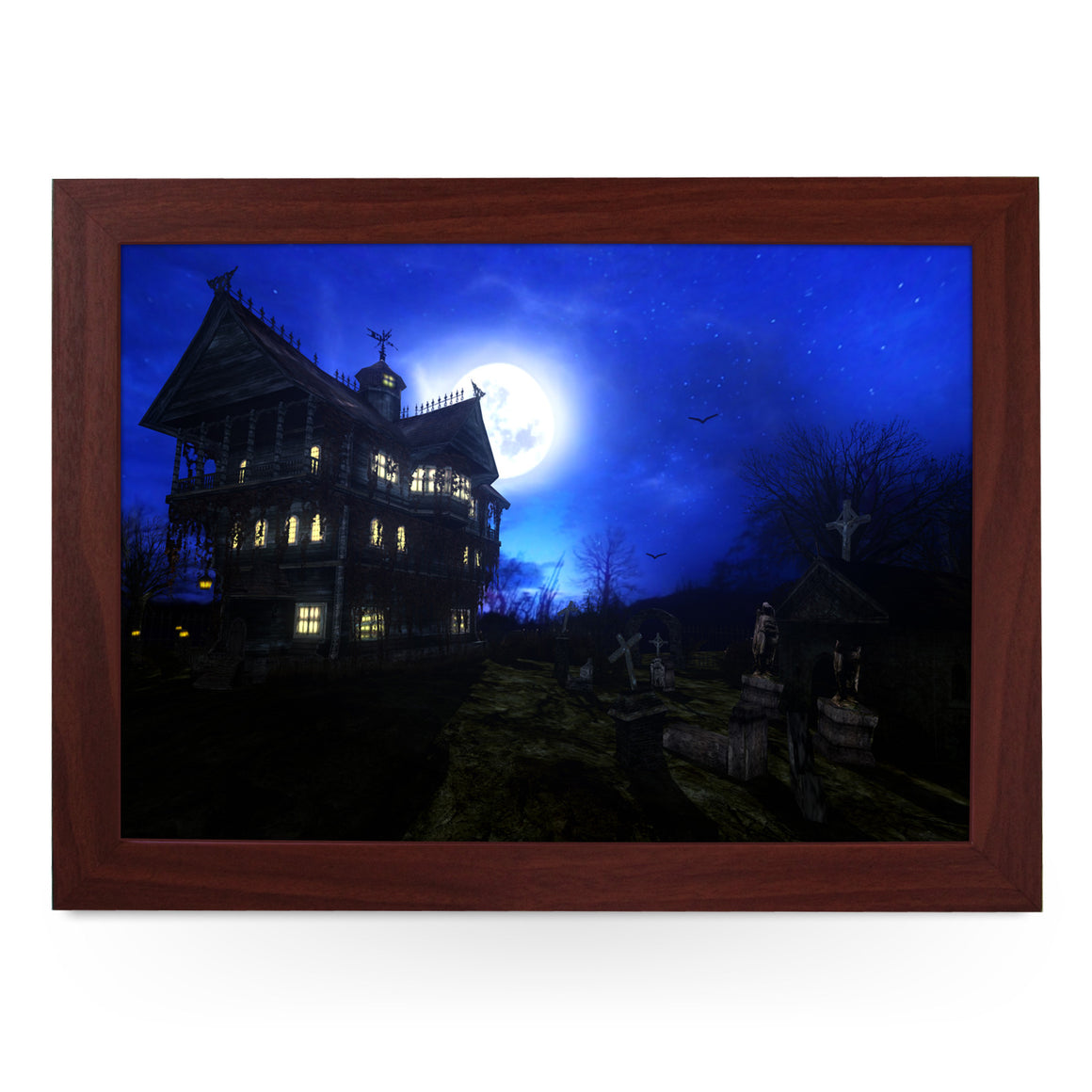 Haunted House Lap Tray -L0408