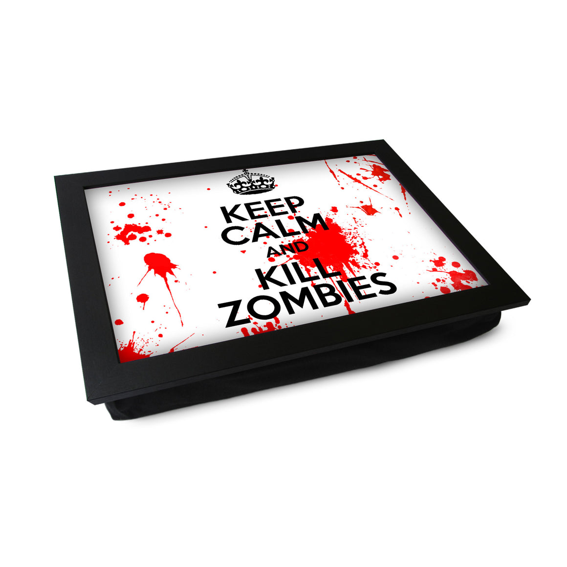 Keep Calm Zombies Lap Tray - L0411
