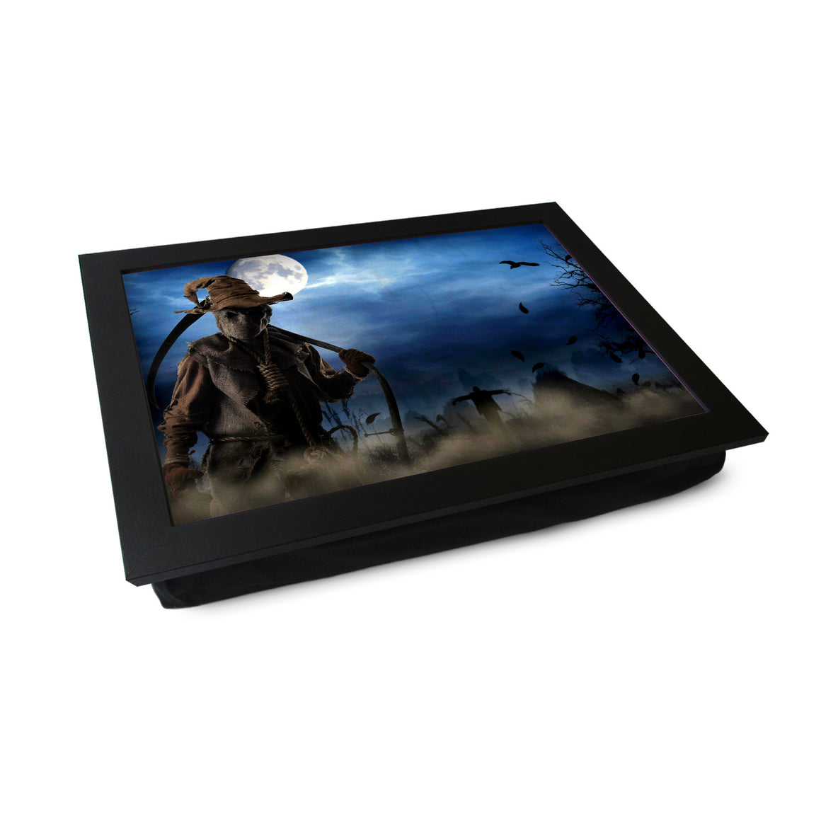 Scarecrow in Field Lap Tray - L0413