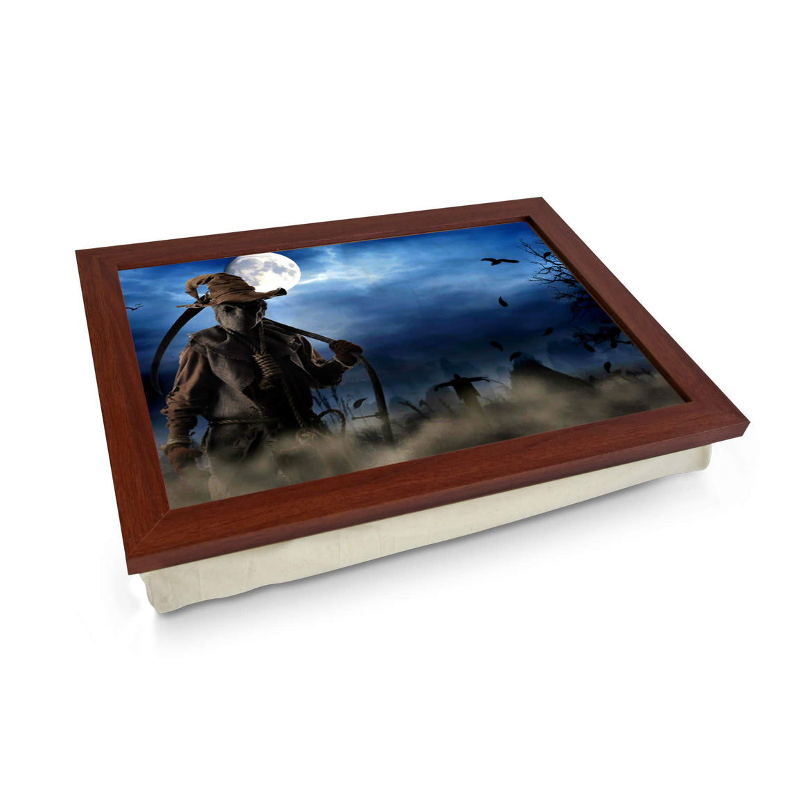 Scarecrow in Field Lap Tray