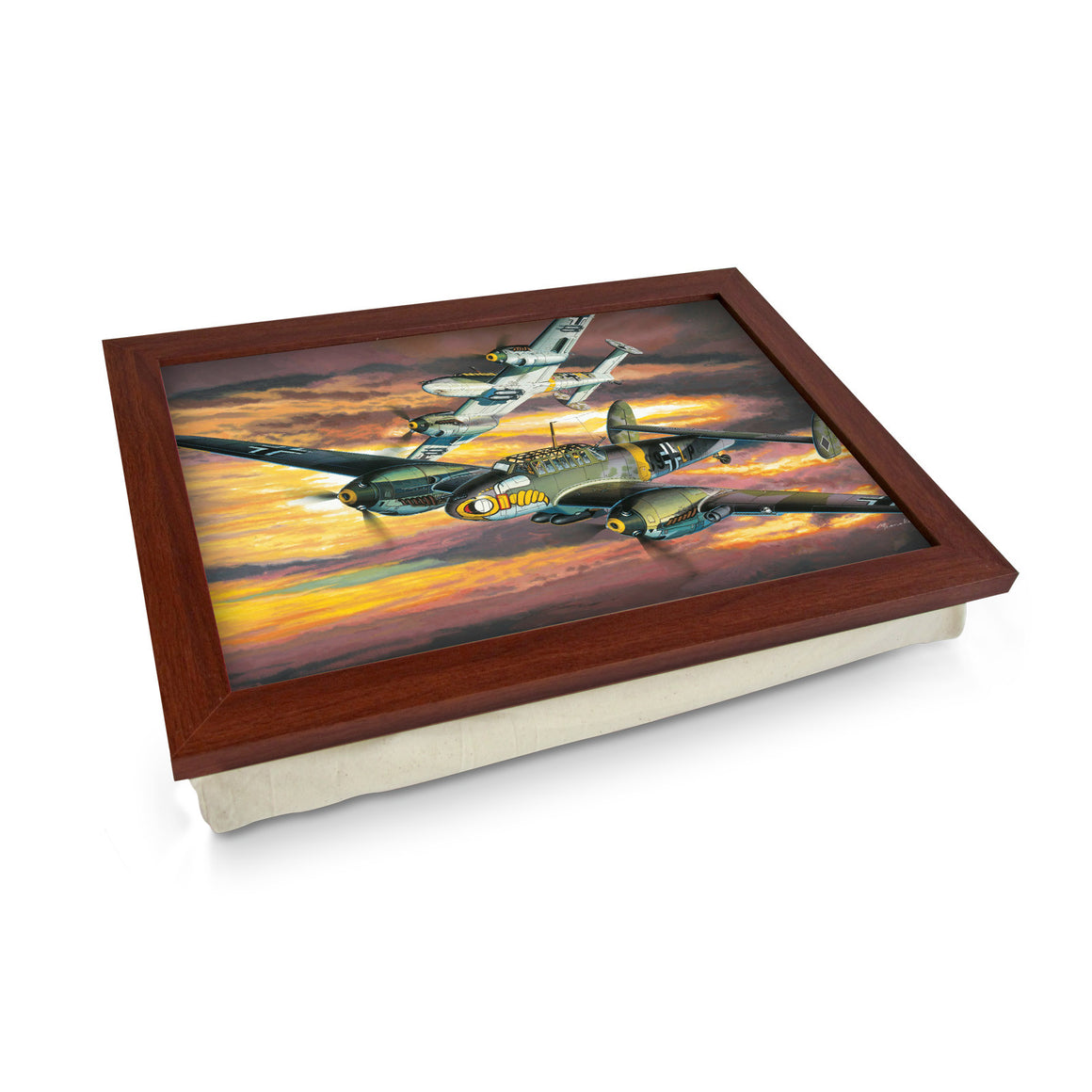 World War II Fighter Bombers Artwork Lap Tray - L0425