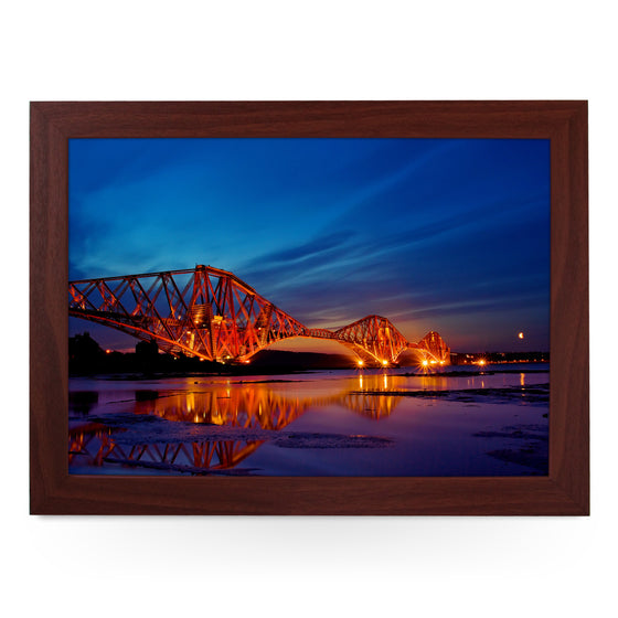 Forth Rail Bridge Scotland Lap Tray - L0433