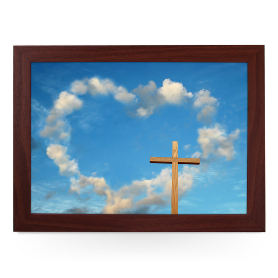 Cloud & Cross Lap Tray - L0436