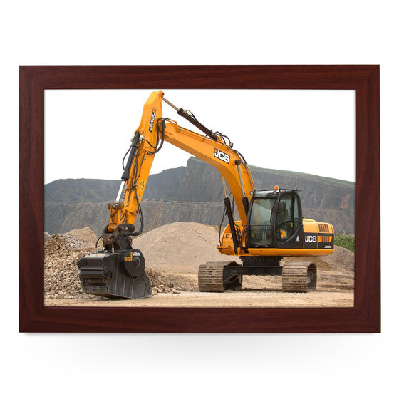JCB Digger In Quarry Lap Tray - L0437