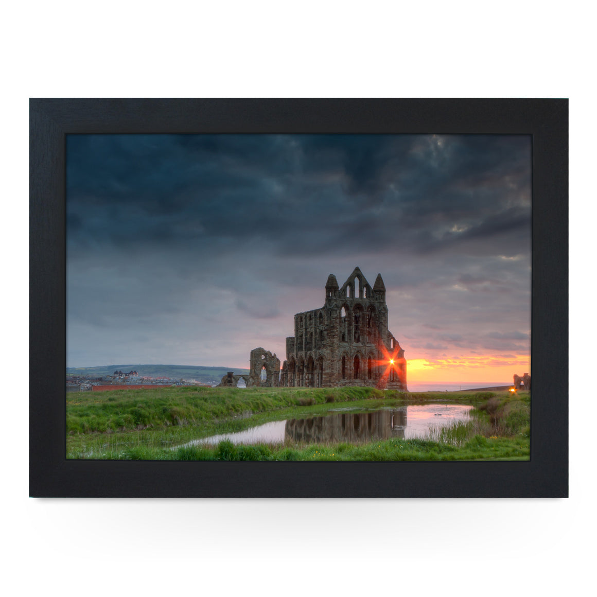 Whitby Abbey Lap Tray - L0443