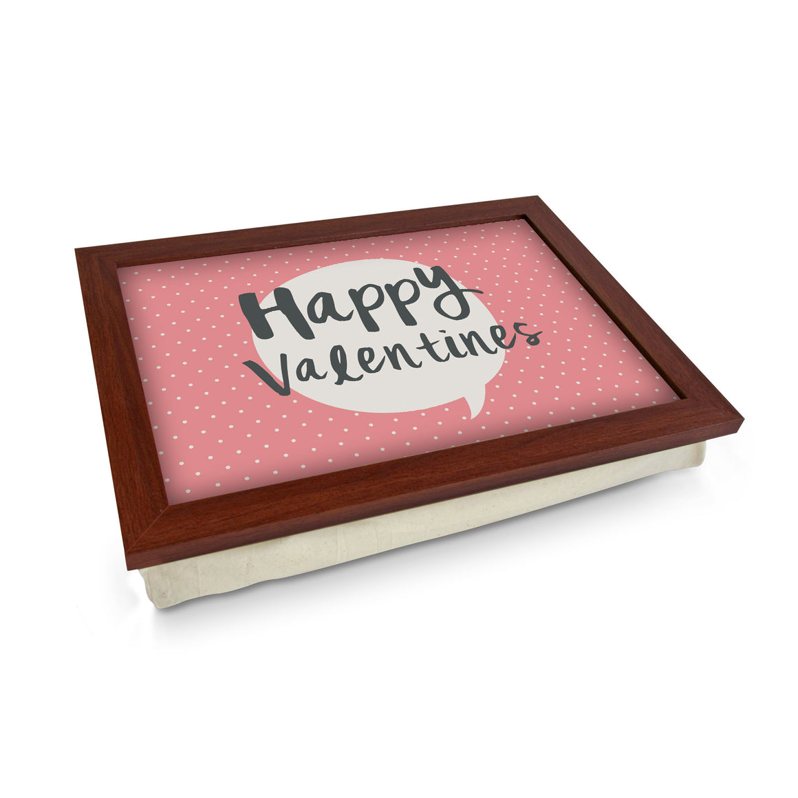 Happy Valentine's Speech Bubble Lap Tray - L0458