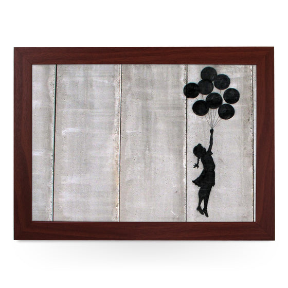 Banksy Flying Balloon Girl Lap Tray - L0470