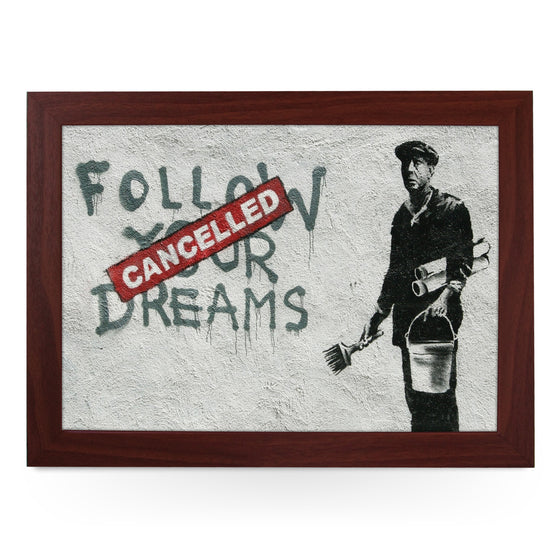 Banksy Follow Your Dreams (Cancelled) Lap Tray - L0471