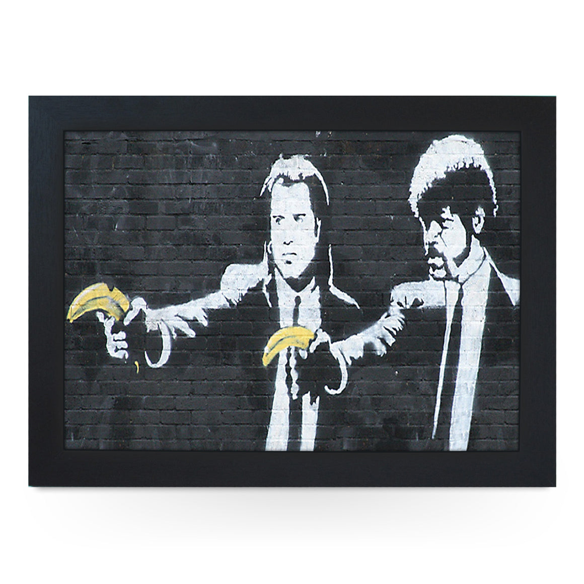Banksy Pulp Fiction Bananas Lap Tray - L0473