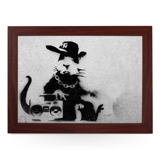 Banksy Rapper Rat Lap Tray - L0474