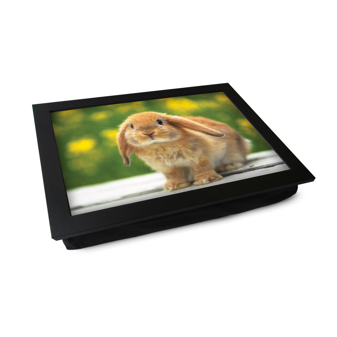 Cute Bunny Rabbit Lap Tray - L0480
