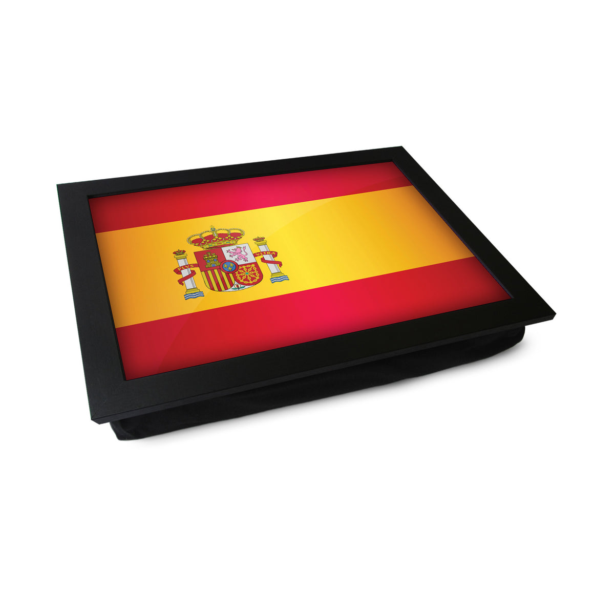 Spain Flag Lap Tray - L0506