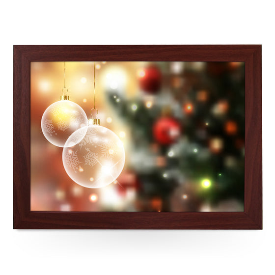 Christmas Tree Baubles Lap Tray - L0567