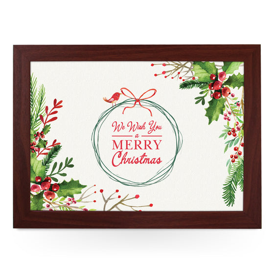 We Wish You A Merry Christmas Lap Tray - L0575