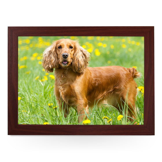 Cocker Spaniel Dog Lap Tray - L0582