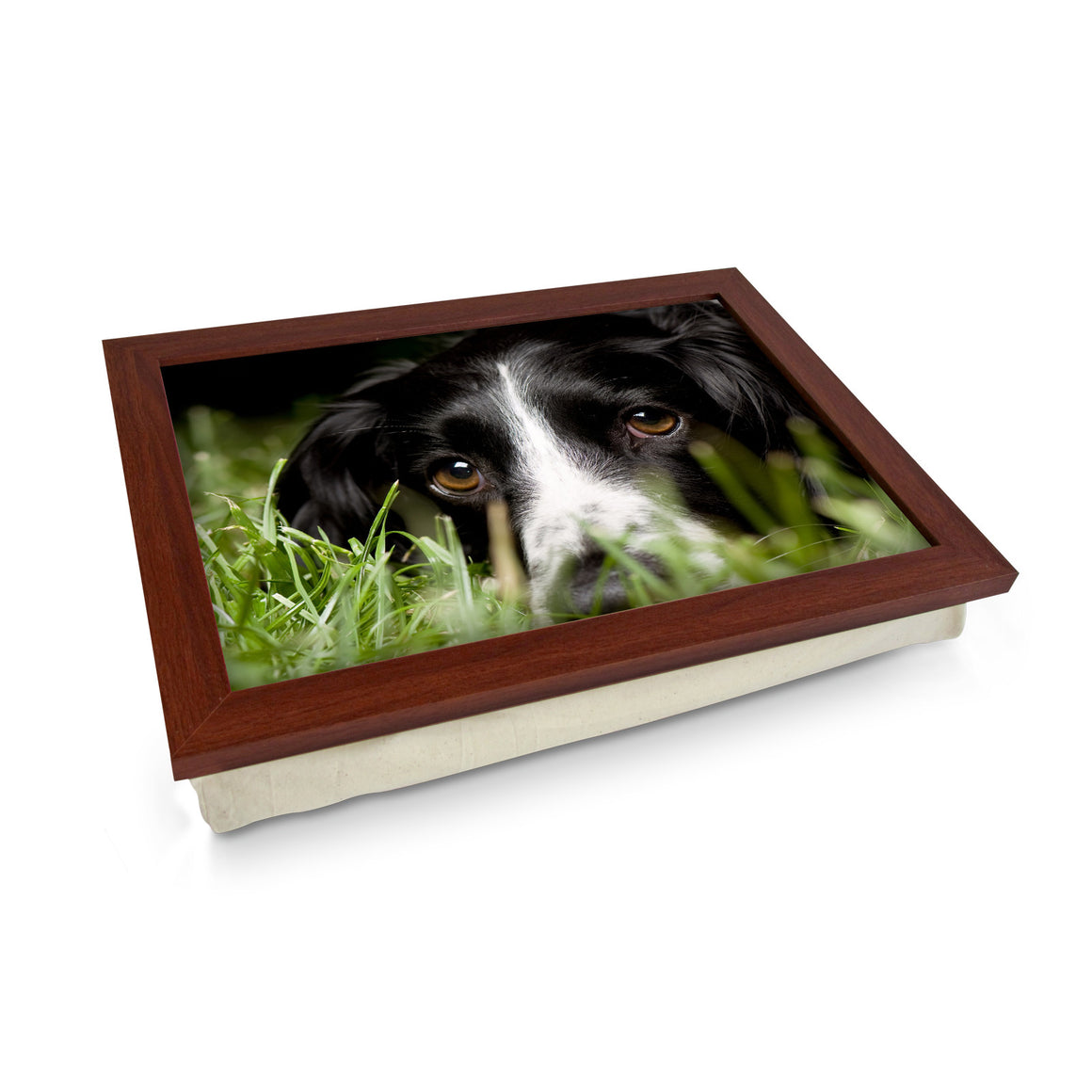 Black Cocker Spaniel Dog Lap Tray - L0584