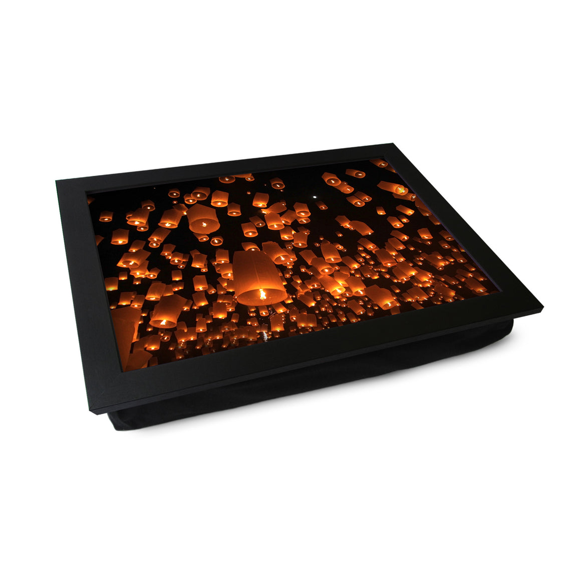 Flying Chinese Lanterns Lap Tray - L0595