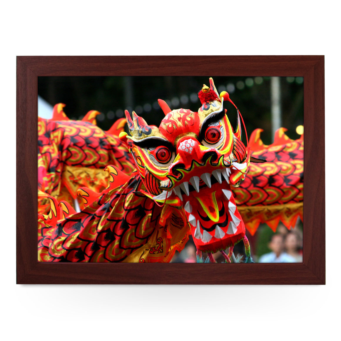 Chinese Dragon Lap Tray - L0597