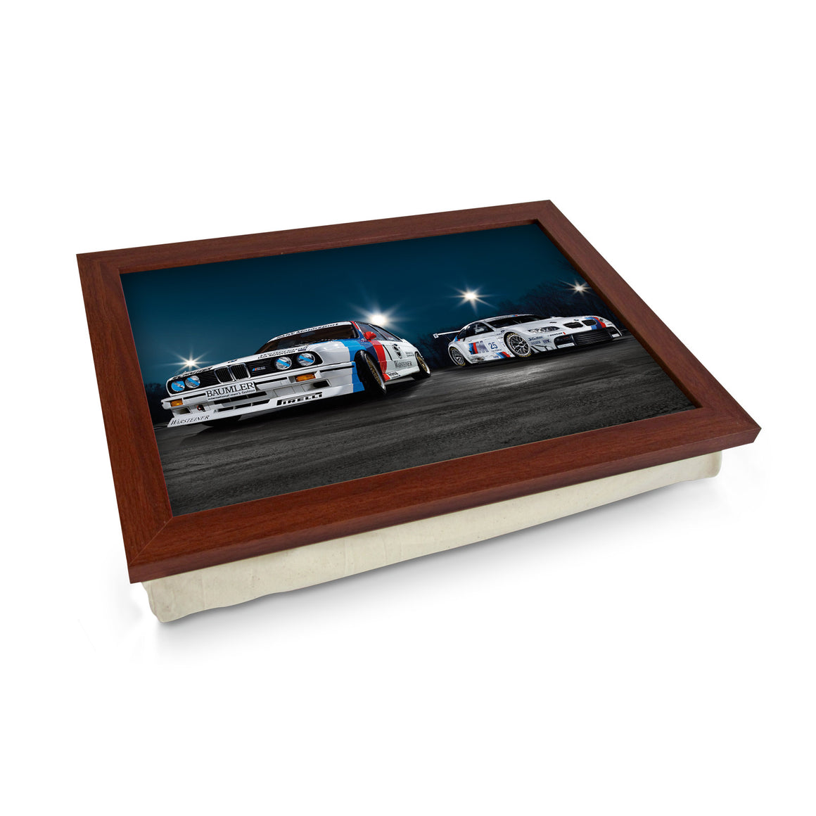 BMW Classic Vs Modern Race Cars Lap Tray - L0729
