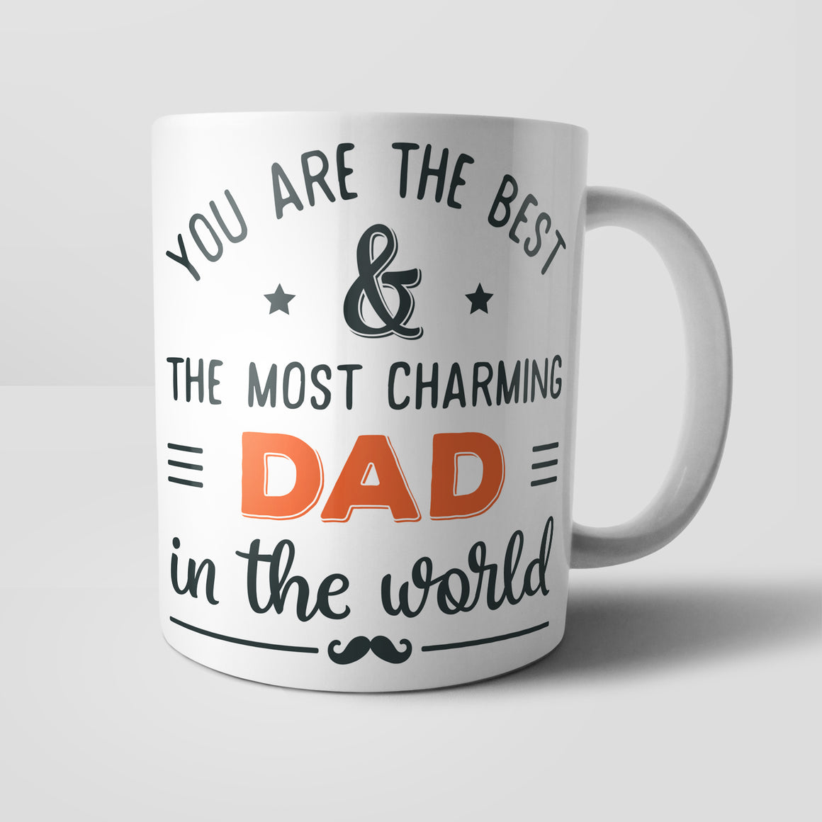 Most Charming Dad In The World Mug - M0739