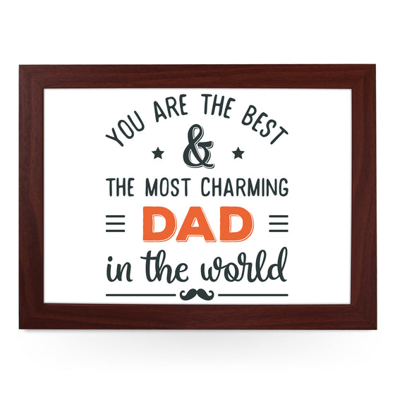Most Charming Dad Lap Tray - L0739