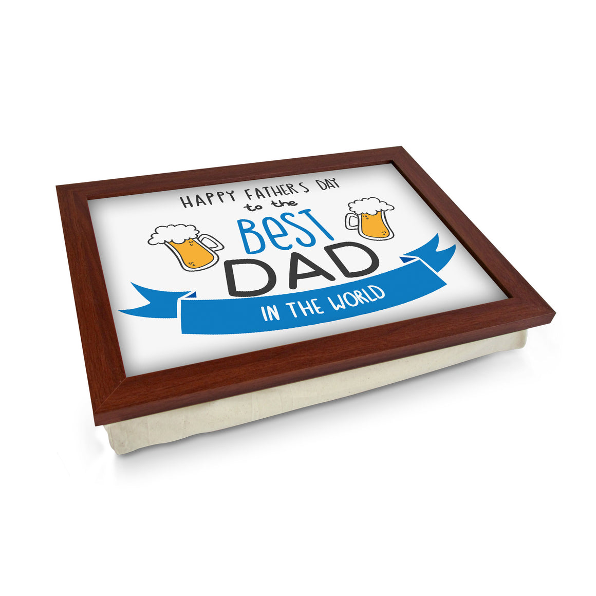Best Dad In The World Lap Tray - L0740