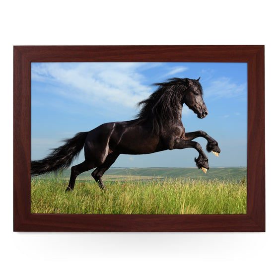 Black Horse Lap Tray - L0746