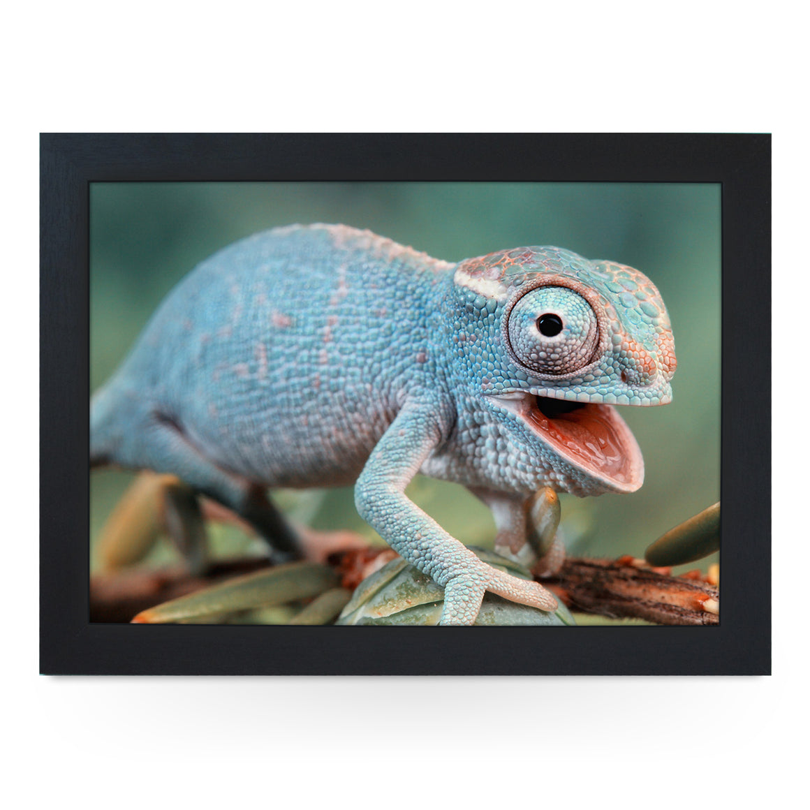 Happy Chameleon Lap Tray - L0748