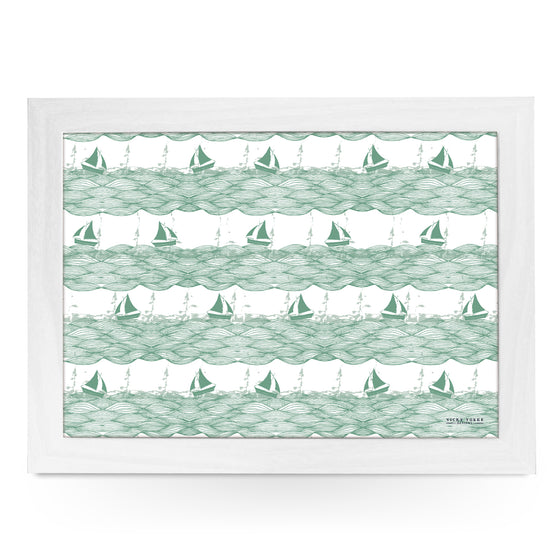 Sailing Boats Lap Tray by Vicky Yorke Designs