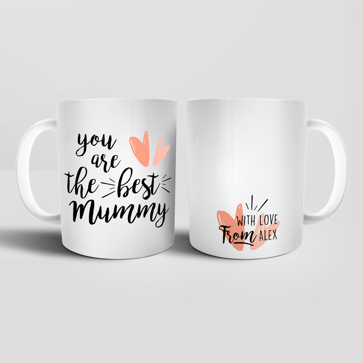 Personalised You Are The Best Mummy Mug - M052