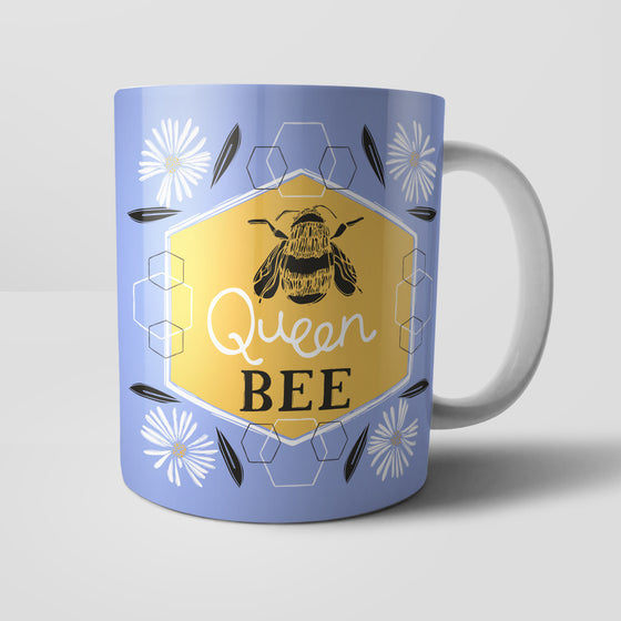 Queen Bee by Vicky Yorke Designs Mug