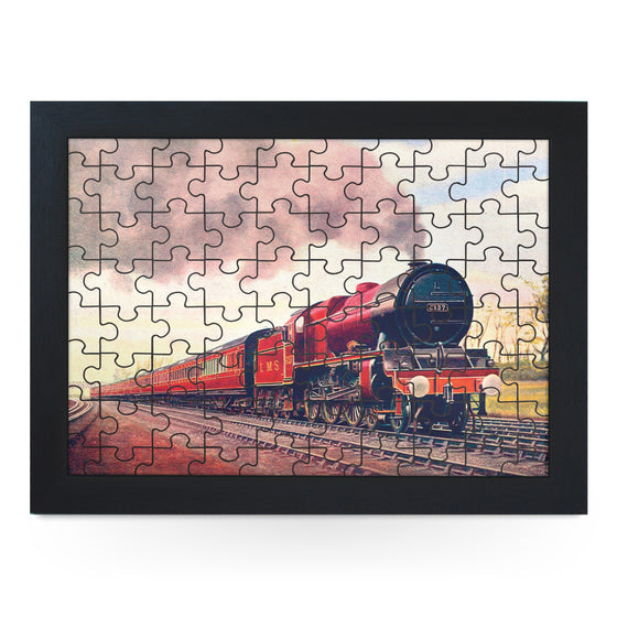 Royal Scotsman Train Jigsaw Puzzle with Frame (180pcs)