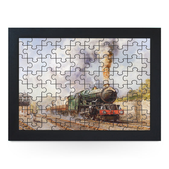 Royal Dutchy Train Jigsaw Puzzle with Frame (180pcs)