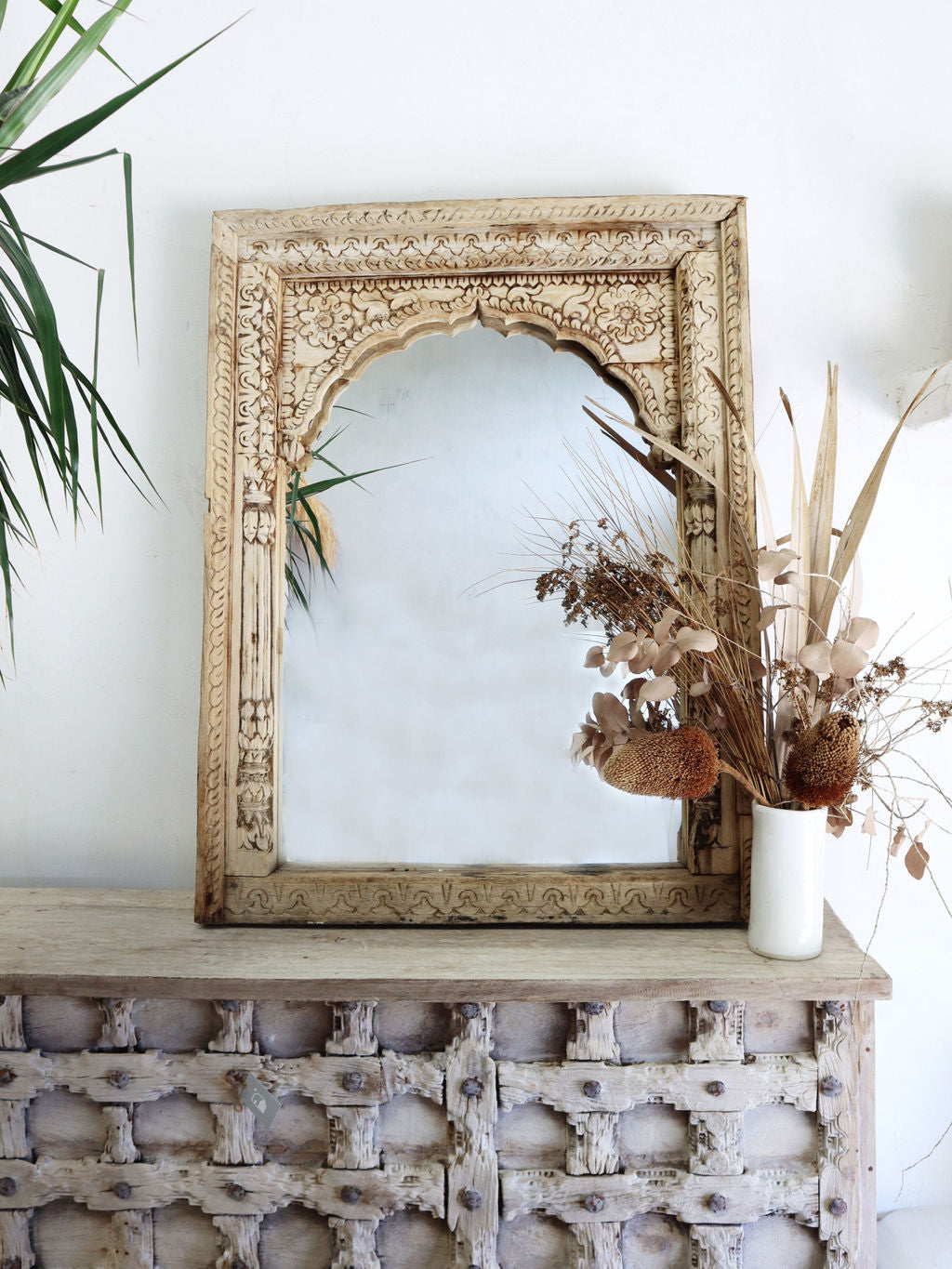 Bleached Indian Buffet Sideboard 117