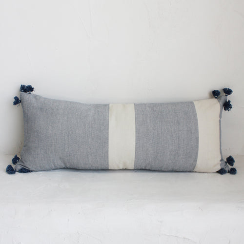 Laguna Cushion Faded Indigo 70 x 35