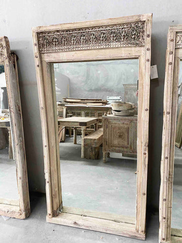 Antique Indian Door with Frame 165192