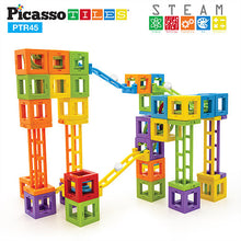 3D Magnetic Roller Coaster Building Blocks ( 45 pcs )