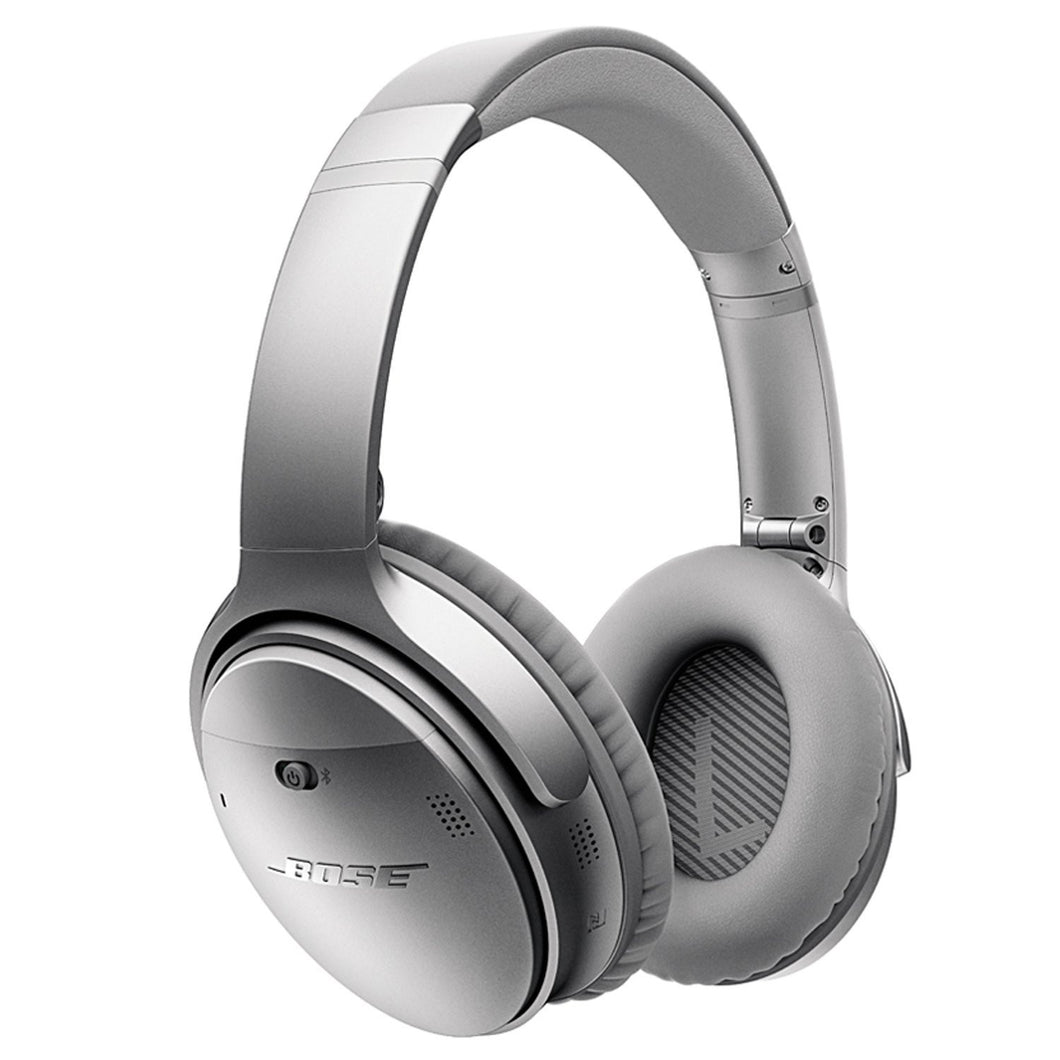 Bose Quiet Comfort 35 Wireless Headphones - Silver