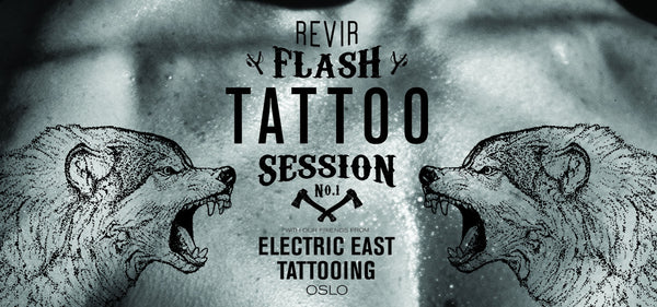 ELECTRIC EAST FLASH TATTOO