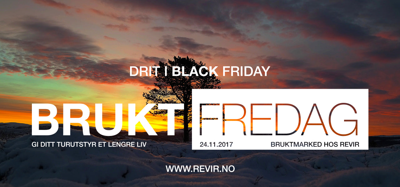 BRUKT FREDAG PÅ BLACK FRIDAY