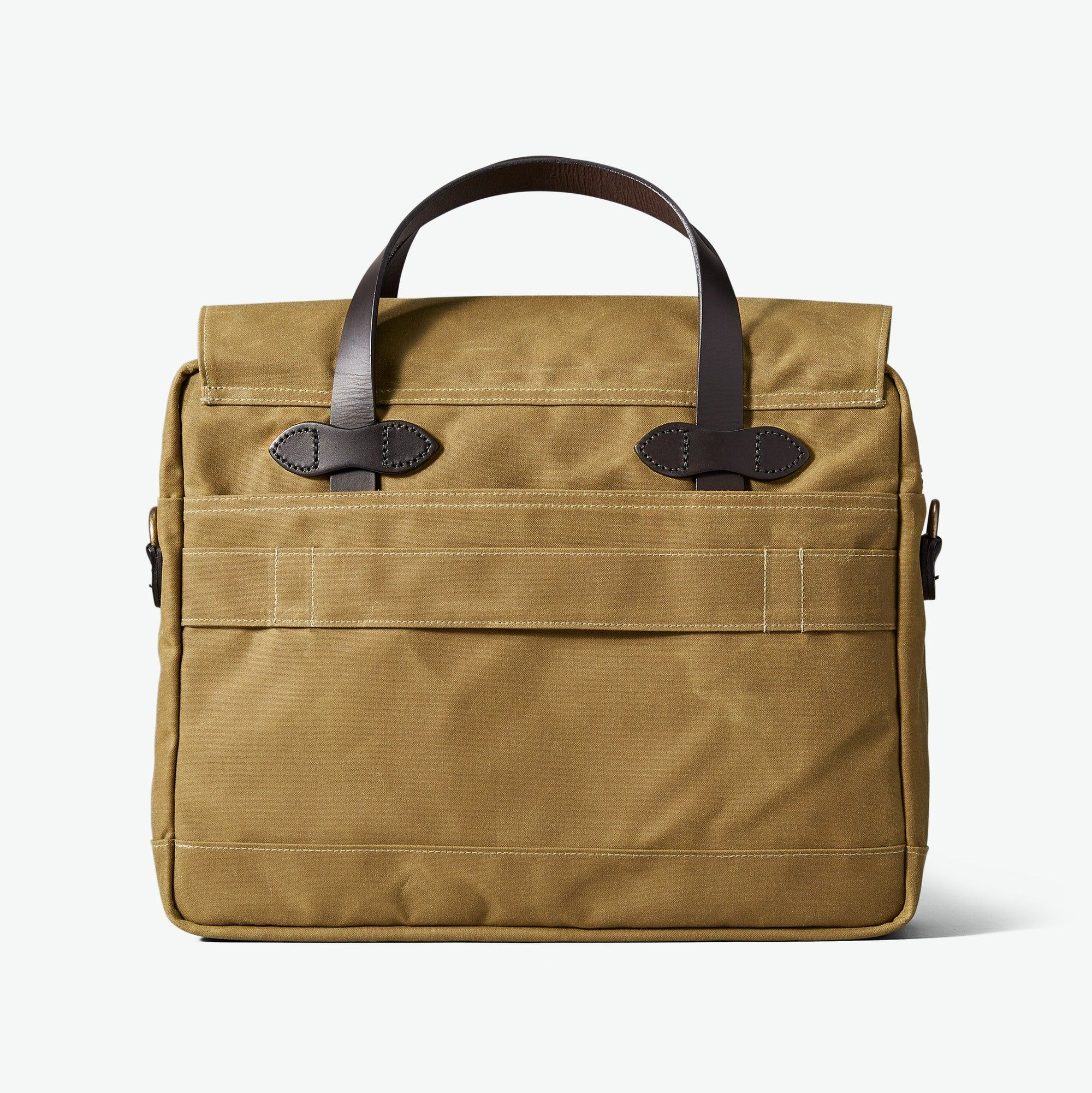 FILSON 24 HR TIN BRIEFCASE - DARK TAN