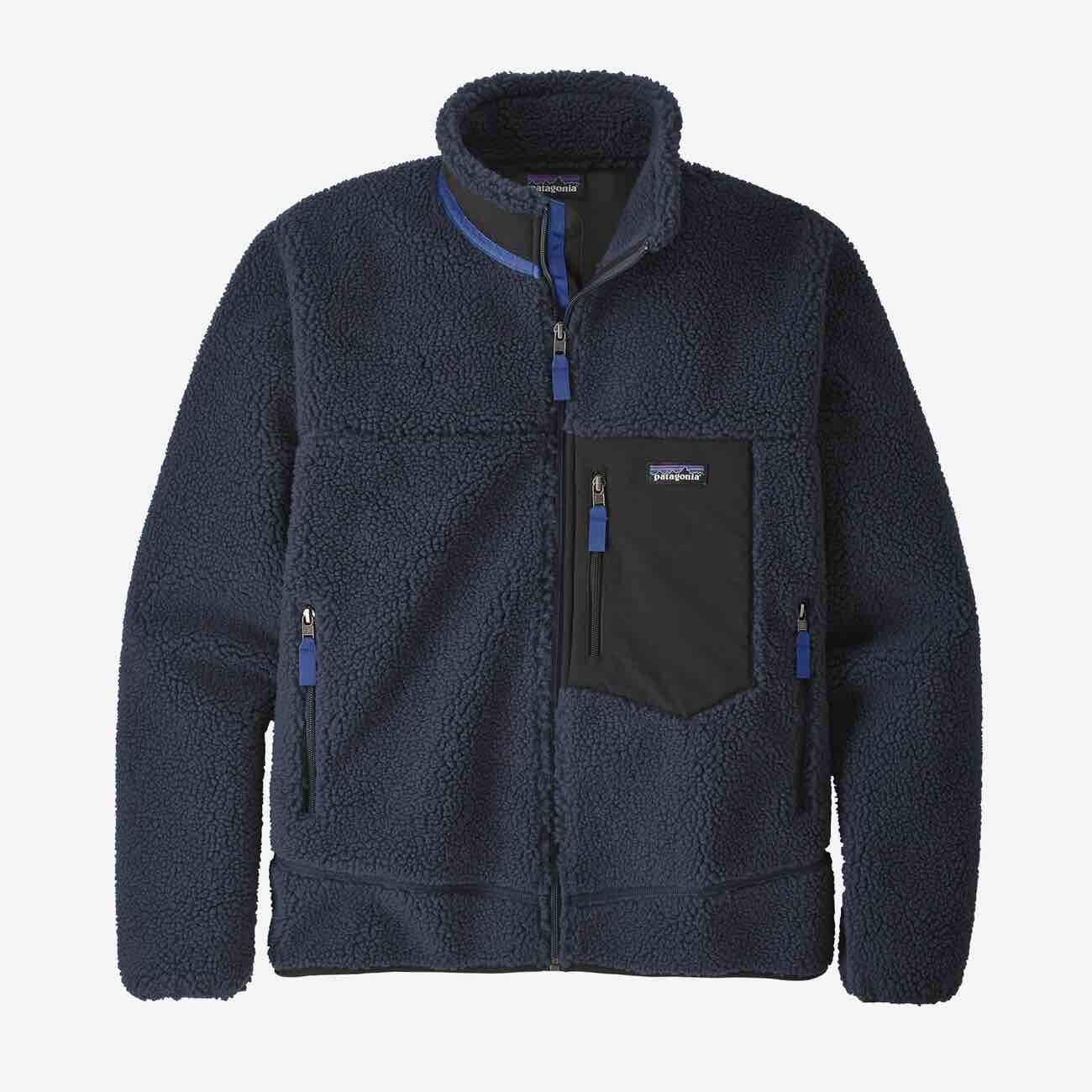 PATAGONIA CLASSIC RETRO-X FLEECE - HERRE - NEW NAVY